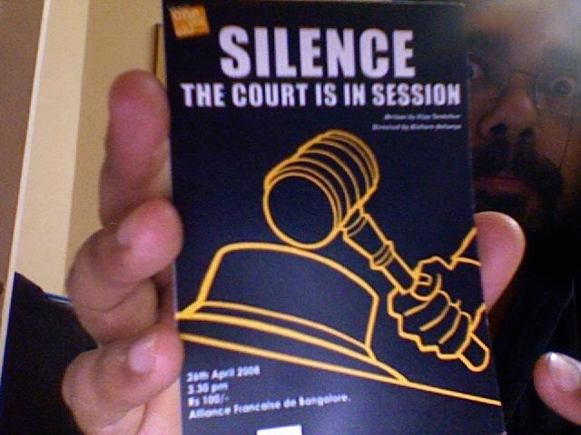 Silence!!
