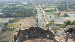 View from top of the Gingee Fort